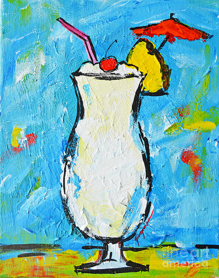 Food And Beverages Painting