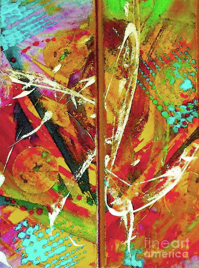 pinata painting by lisa kaiser