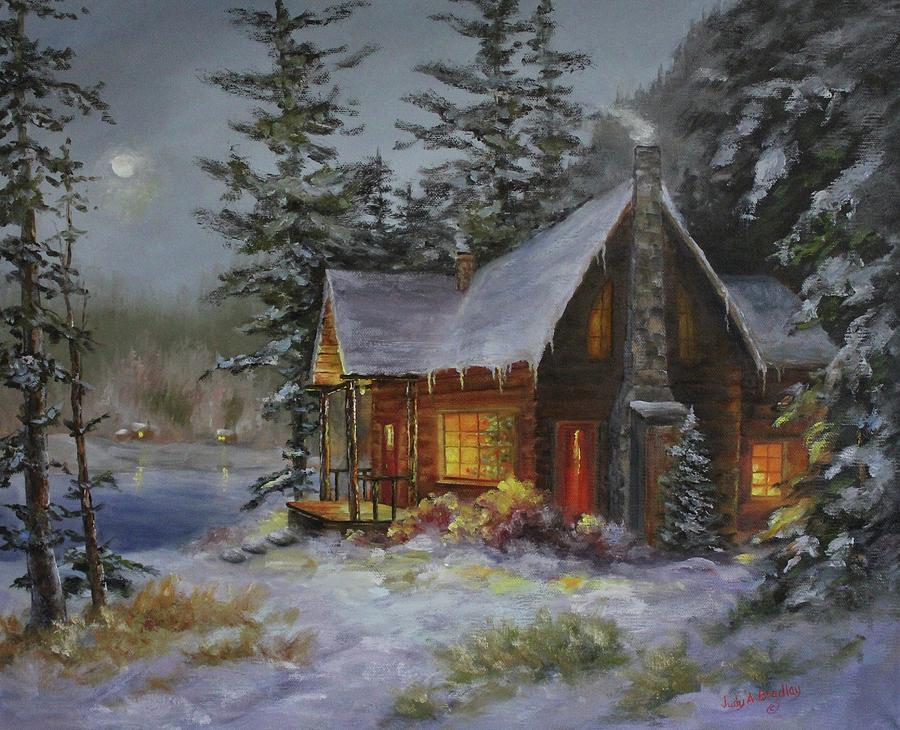 Pine Cove Cabin by Judy Bradley
