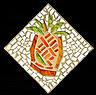 Pineapple Glass Art - Pineapple II by Diane Morizio
