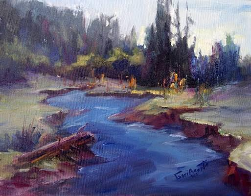 Pinetop Serenity Painting by Geri Acosta