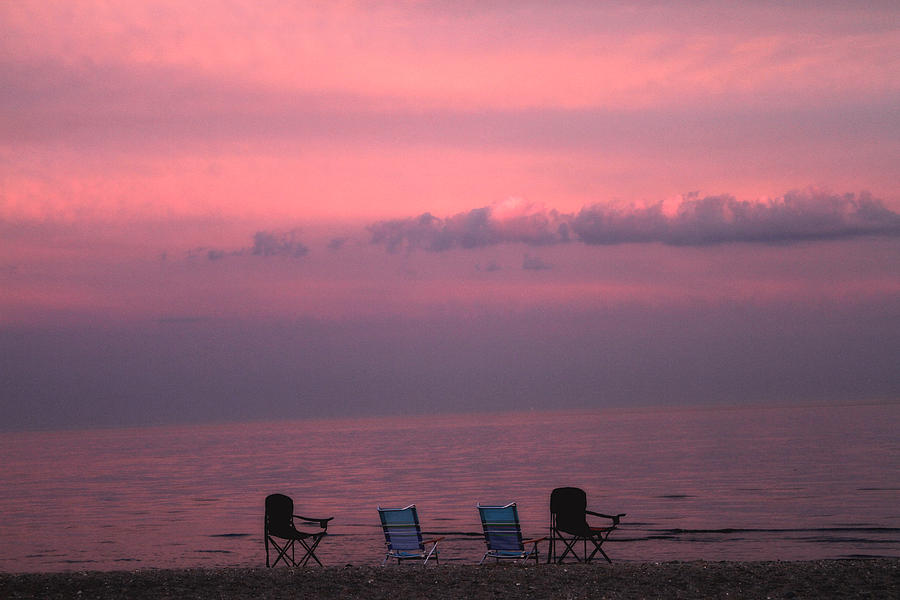 Coastal Photograph - Pink And Deserted by Karol Livote
