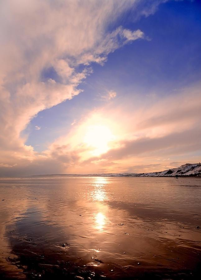 Aqua Photograph - Pink Dawn by Svetlana Sewell