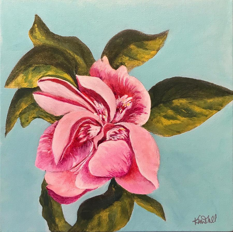 Floral Painting - Pink Delight by Kim Wall