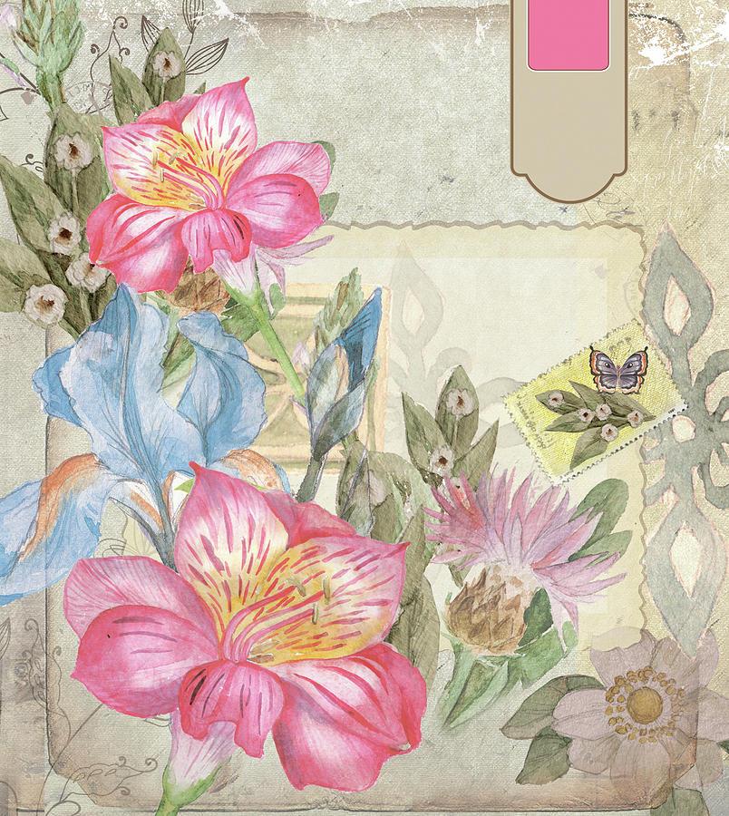 Винтажные открытки тетрадь 100 листов, картинки для