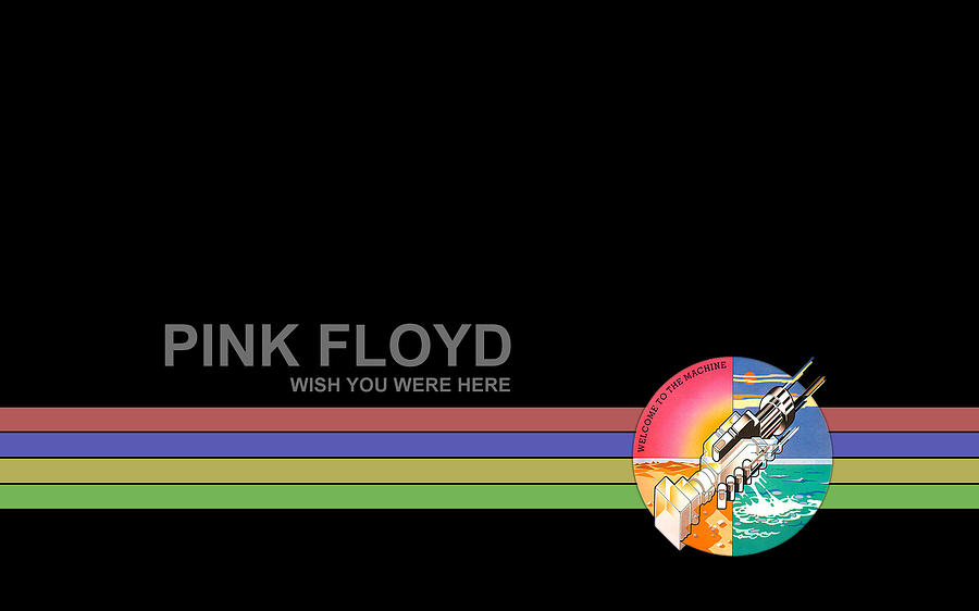 Pink Floyd Digital Art - Pink Floyd by Dorothy Binder