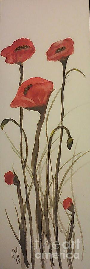 Flowers Painting - Pink by Ginny Youngblood