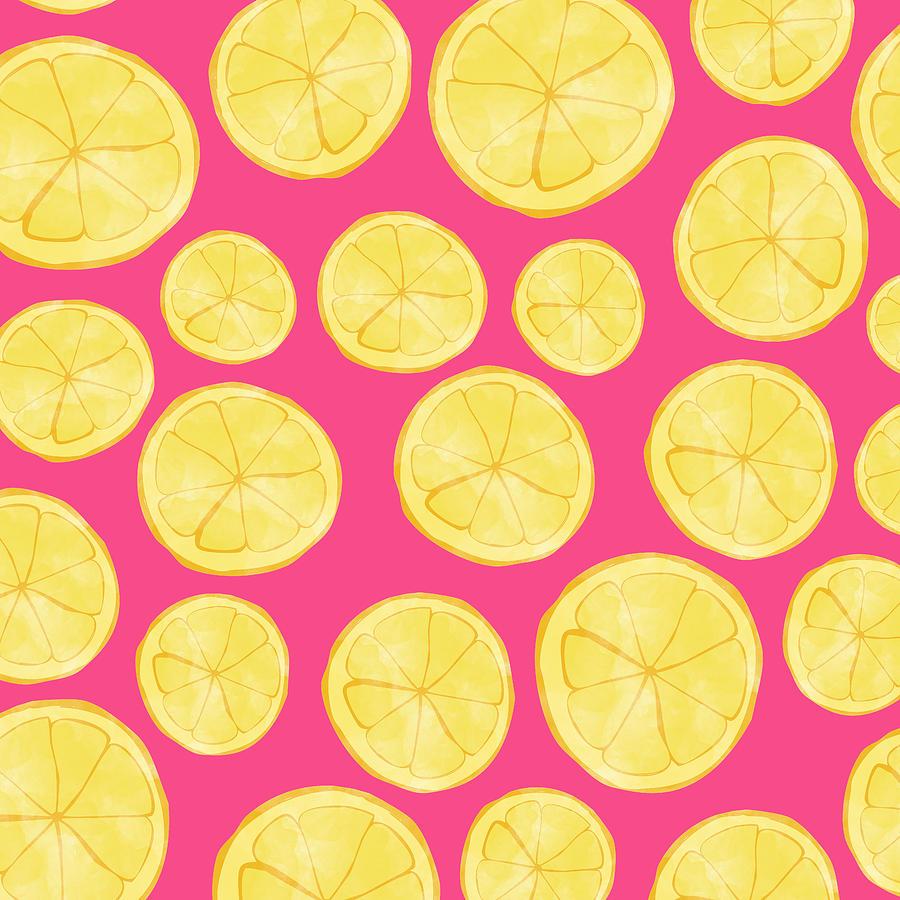 Pink Lemonade Digital Art - Pink Lemonade by Allyson Johnson