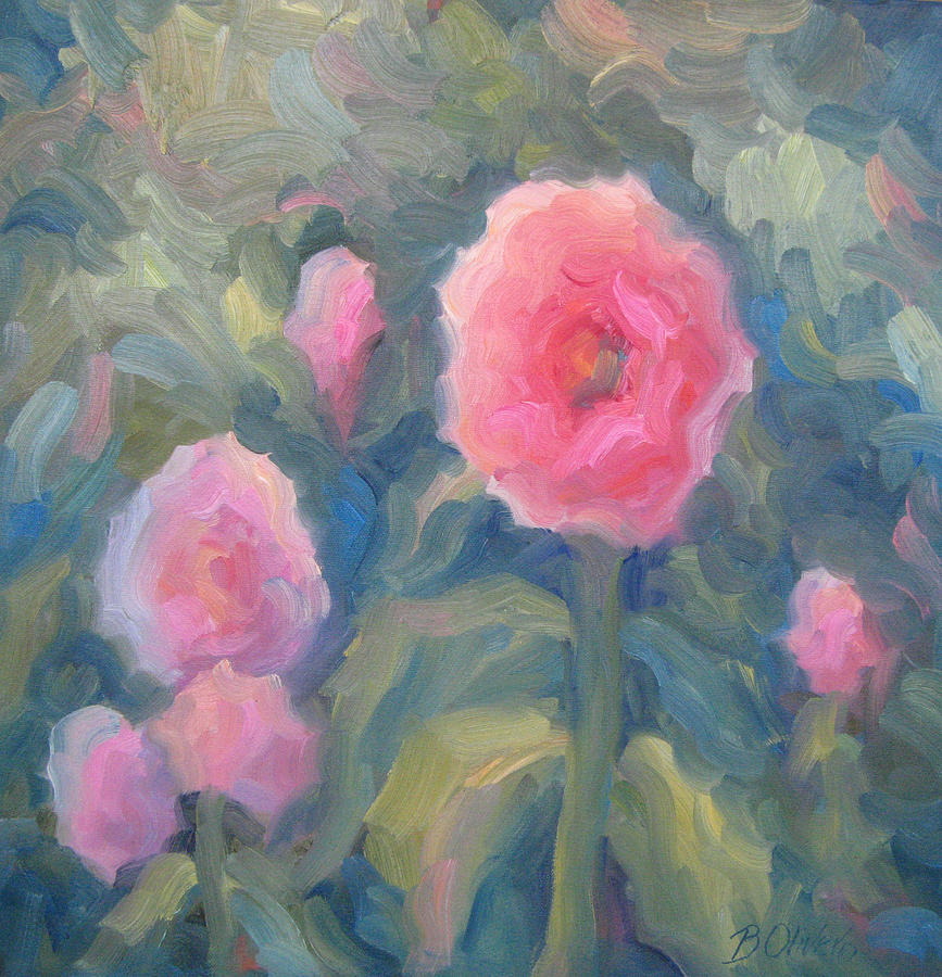 Pink Painting - Pink Makes Everything Better by Bunny Oliver