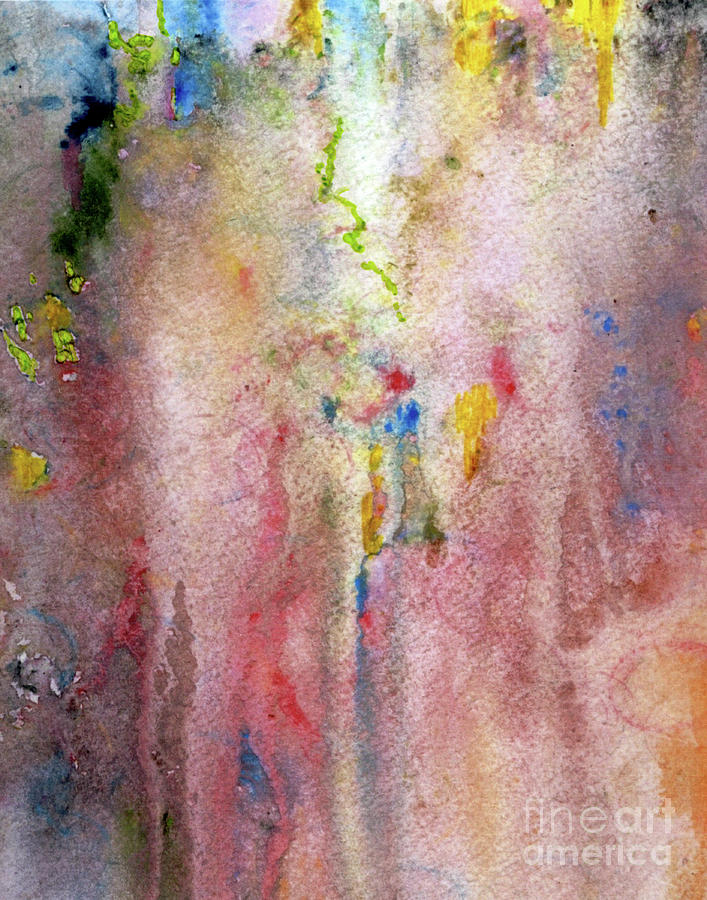 Pink Painting - Pink Mist by Mary Zimmerman