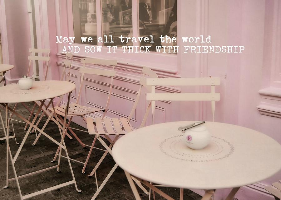 London Photograph - Pink Party Cakes Quote by JAMART Photography