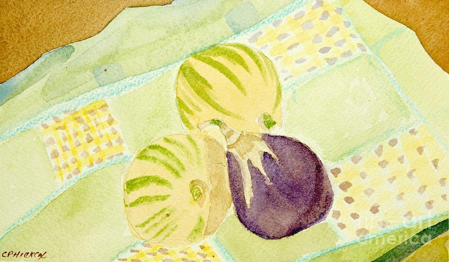 Lemons Painting - Pink Passion Lemonade by Charlotte Hickcox