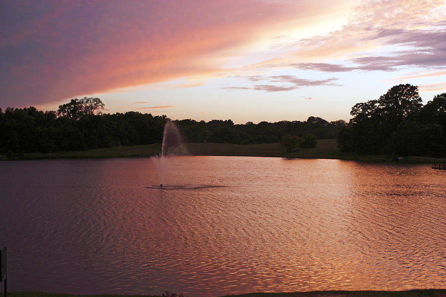 Sunset Photograph - Pink Reflections by Melissa Millsap-Young