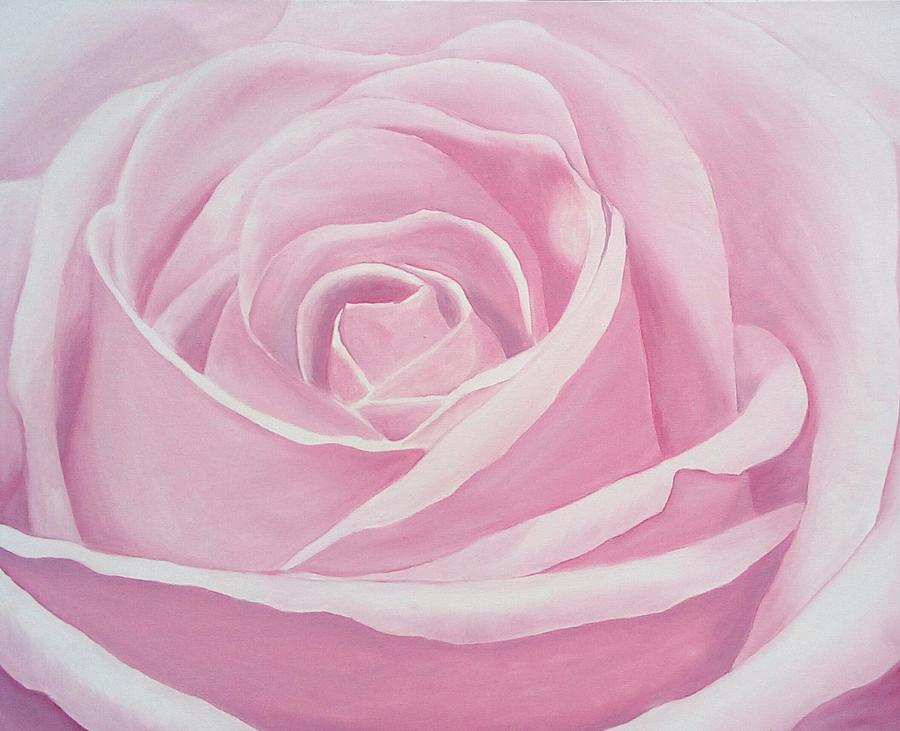 Rose Painting - Pink Rose by Maryna Moolman