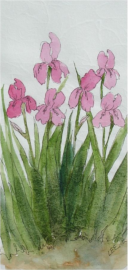 Pink Spring Painting by Pamela Lee