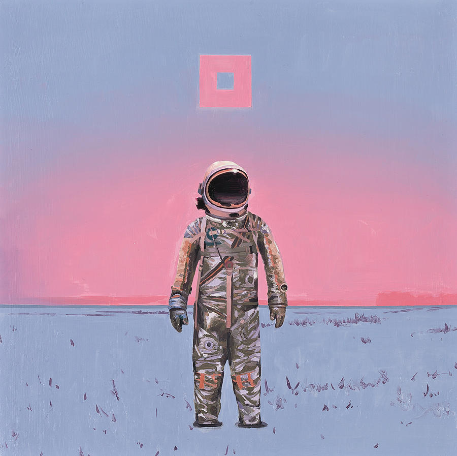Pink Square by Scott Listfield