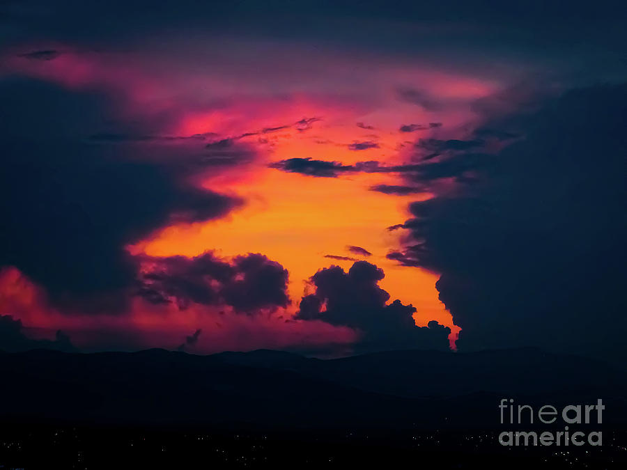 Pink Sunrise by Camille Pascoe