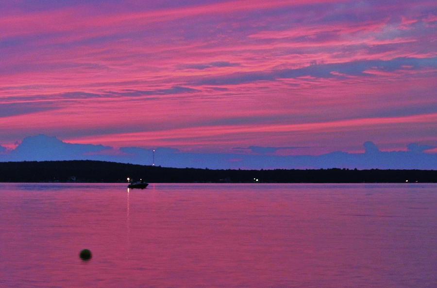 Pink Sunset Photograph by Darla Wilson