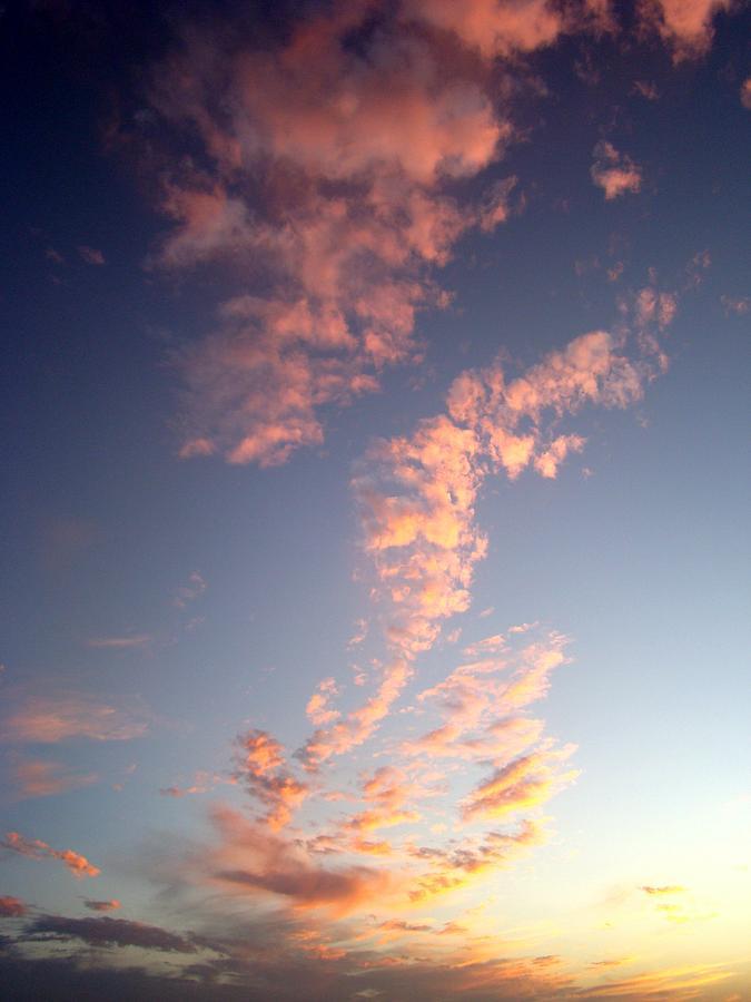Pink Photograph - Pink Sunset One by Ana Villaronga