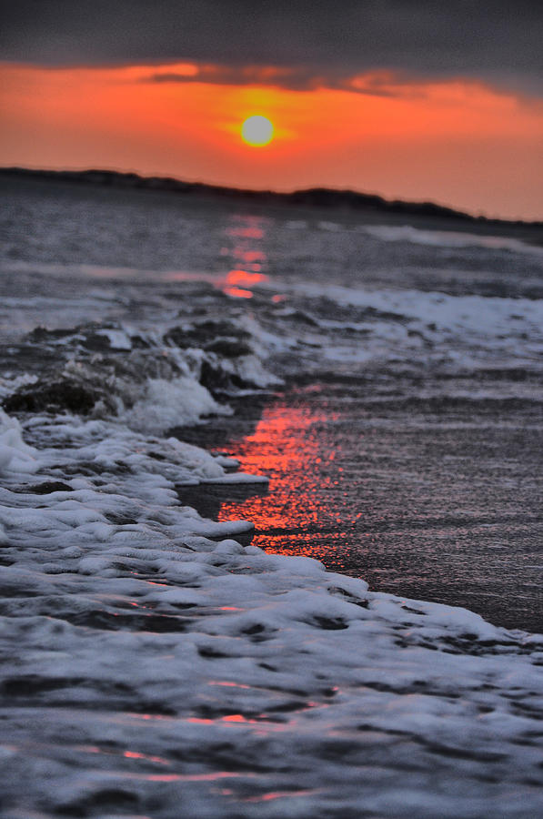 Sunset Photograph - Pink Tide by Emily Stauring