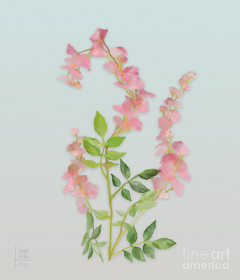 Image result for painting of tiny flowers