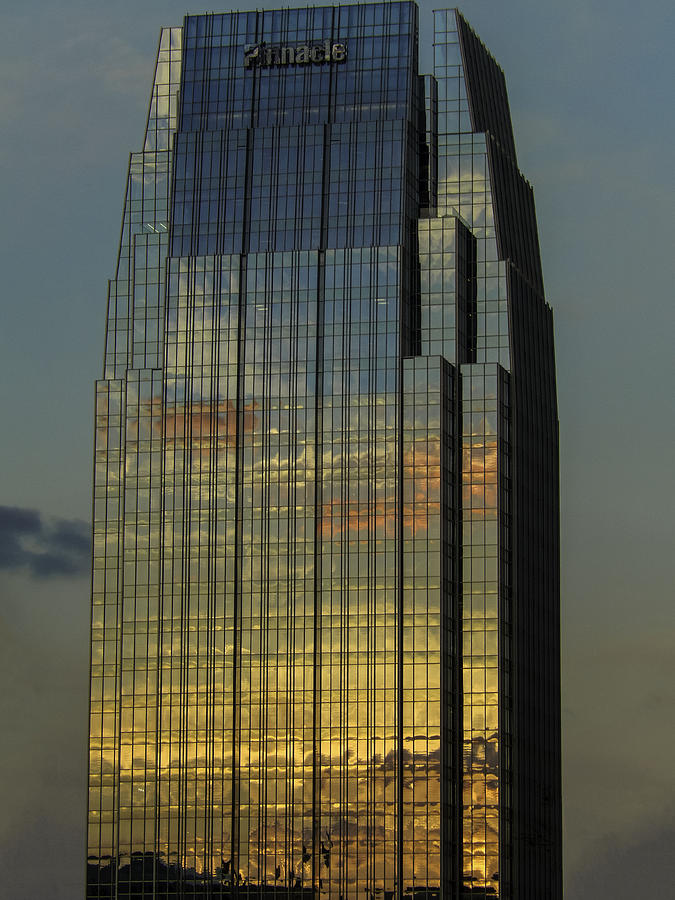 City Photograph - Pinnacle Sunset Reflection by Kelly E Schultz
