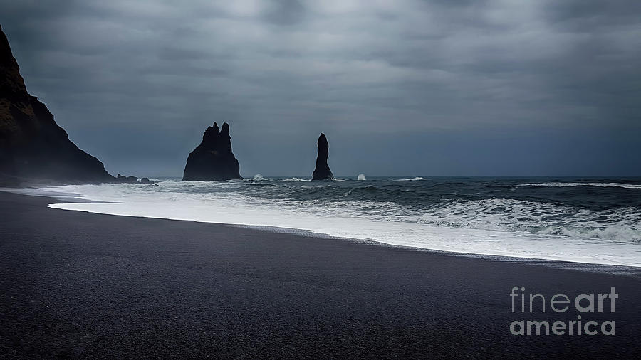 Pinnacles At Black Sand Beach Photograph