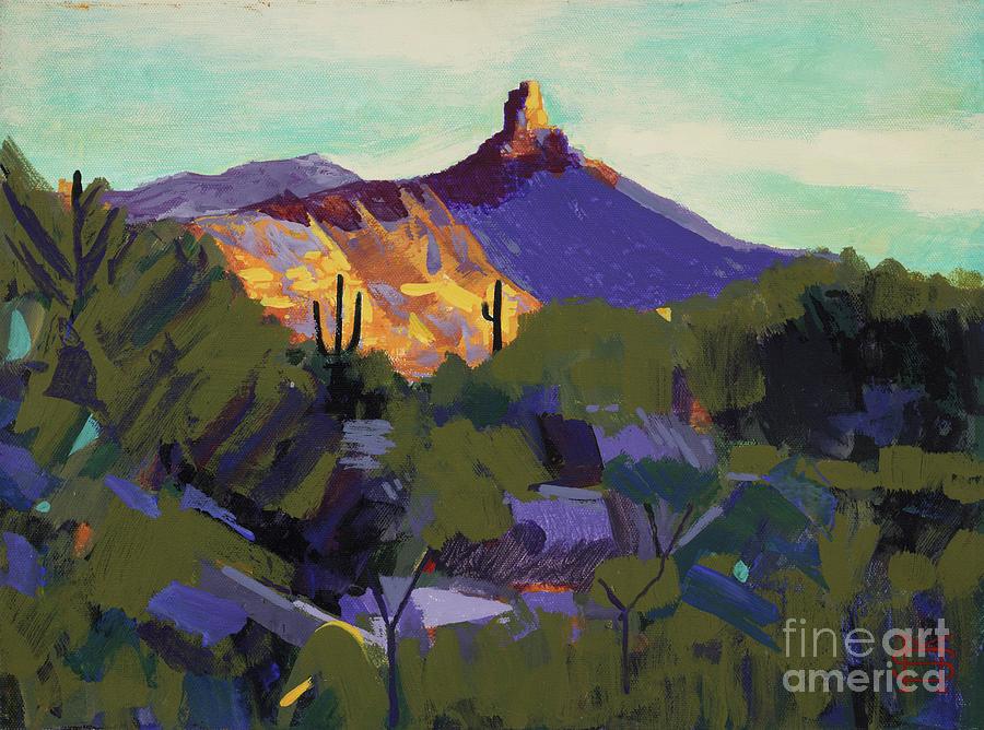 Pinnacle Peak by Michael Stoyanov