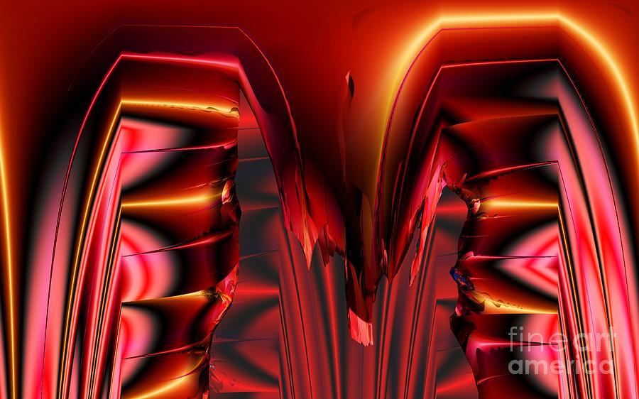 Pinned Digital Art - Pinned by Ron Bissett