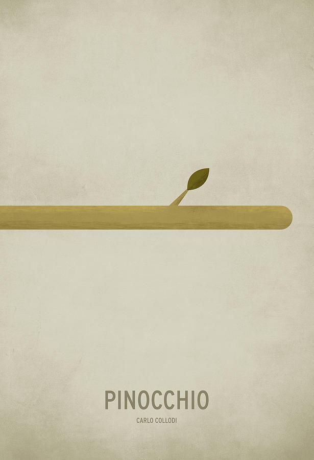 Pinocchio Digital Art by Christian Jackson