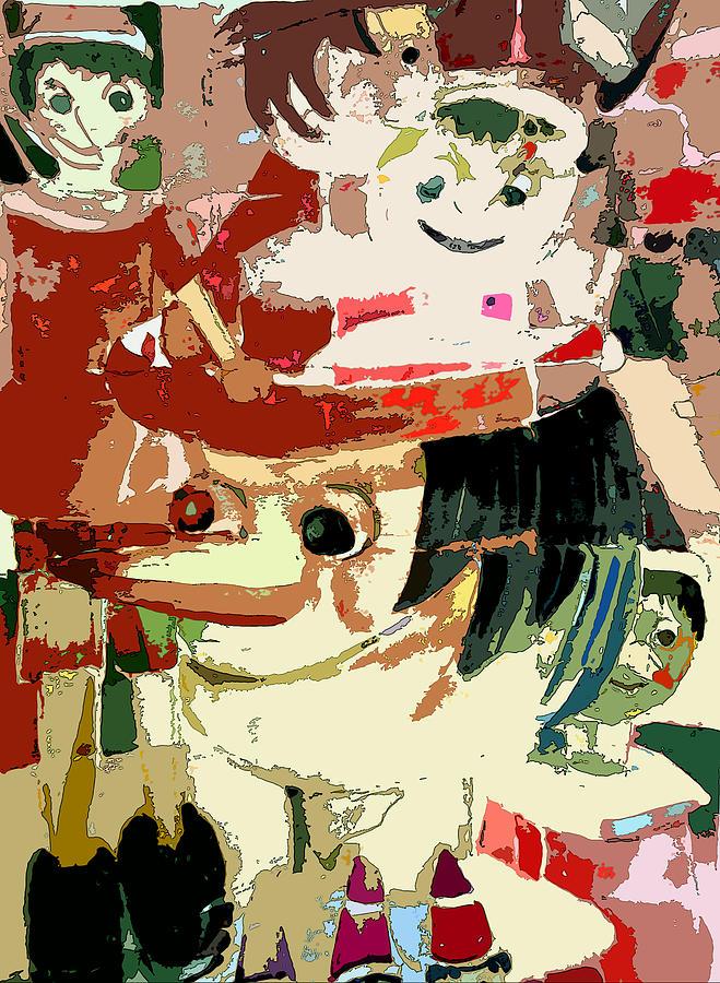Pinocchio Painting - Pinocchio by Mindy Newman
