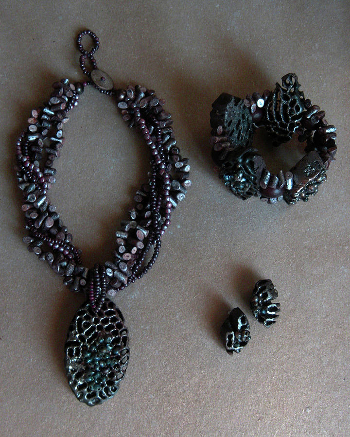Natural Jewelry Jewelry - Pinococo 11-398 by Lyn Deutsch