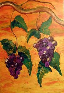 Winery Painting - Pinot Noir by Blackcat Studios