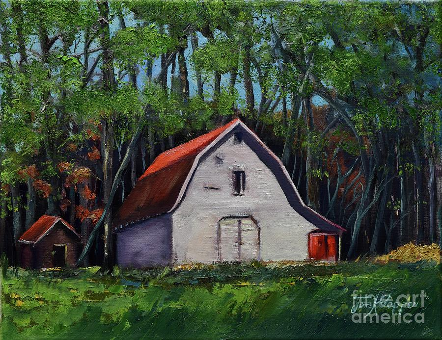 Pinson Barn at Harrison Park by Jan Dappen