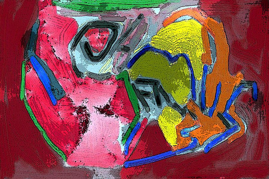 Fineart Photograph - Pintura Moderna 1 by Carlos Camus