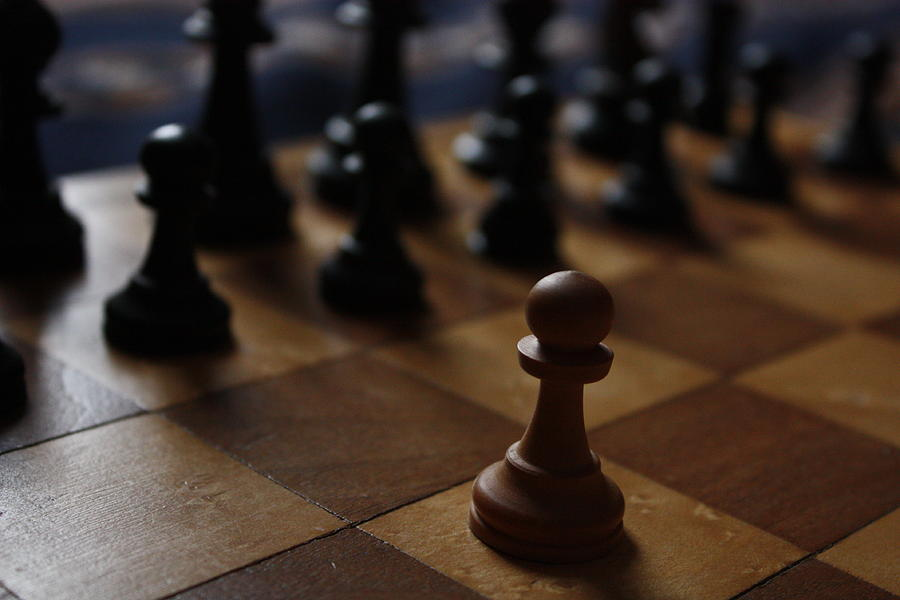 Chess Photograph - Pion Seul by Isabelle Florence Legault