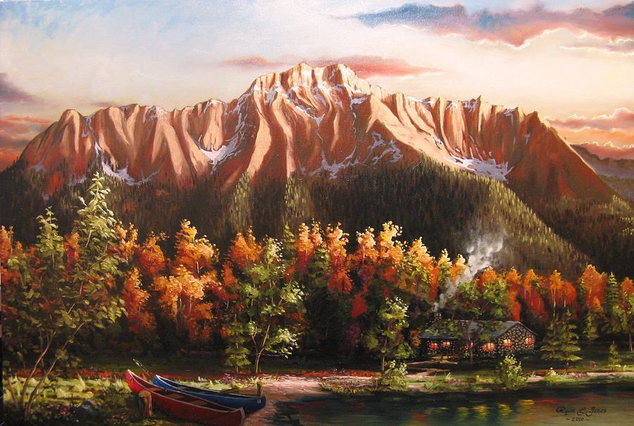 Pioneer Peek Painting by Ryan L  Jones