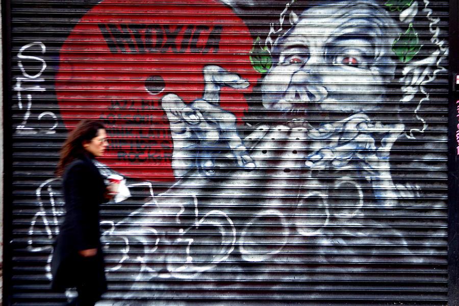 London Photograph - Piper At The Gates Of Portobello by Jez C Self