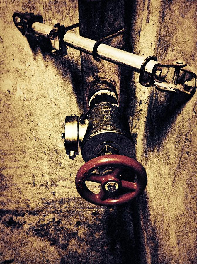 Pipe Photograph - Pipes by Eddie G