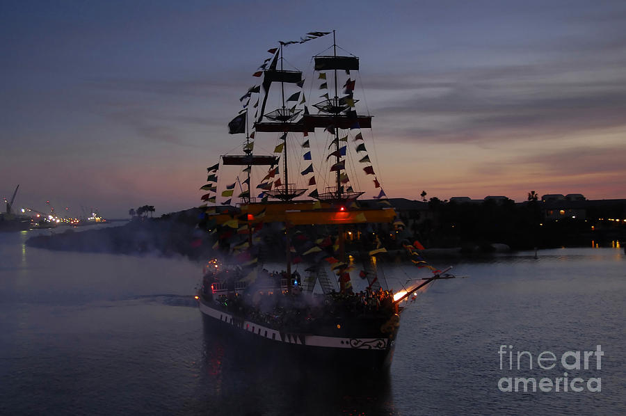 Pirates Photograph - Pirate Invasion by David Lee Thompson