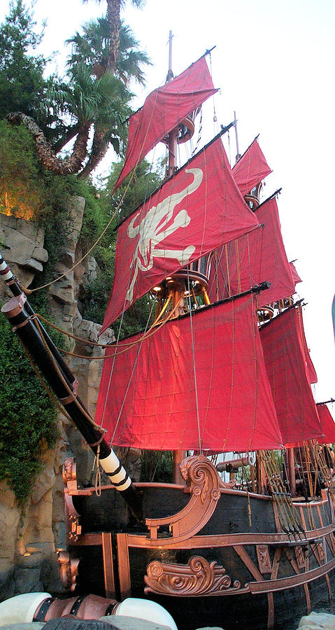 Pirate Photograph - Pirate Ship by Alan Espasandin