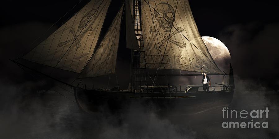 Pirate Ship Photograph