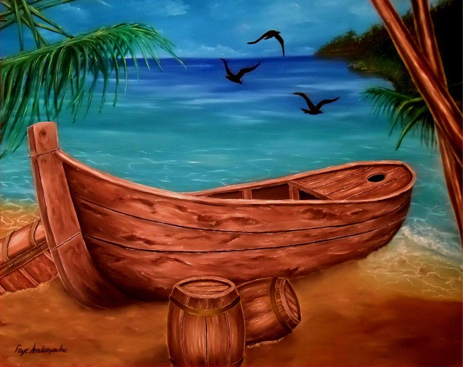 Pirates' Story by Faye Anastasopoulou