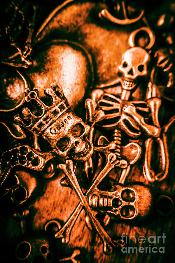 Jewelry Photograph - Pirates Treasure Box by Jorgo Photography - Wall Art Gallery