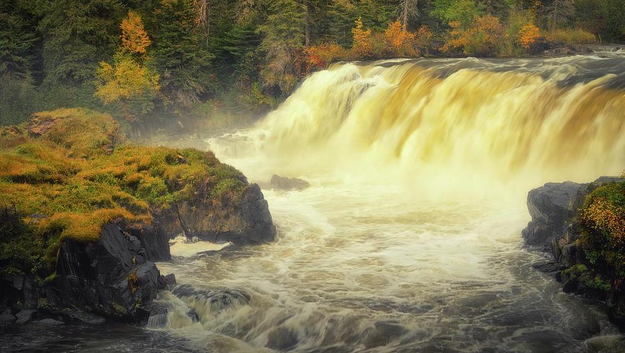 Water Photograph - Pisew Falls by Stuart Deacon