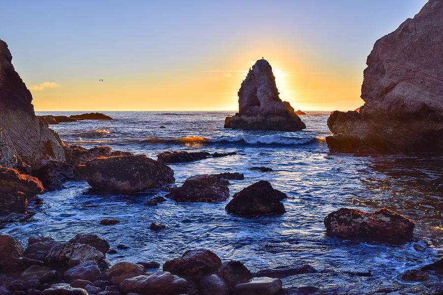 Pismo Cliffs Sunset, Five Rocks