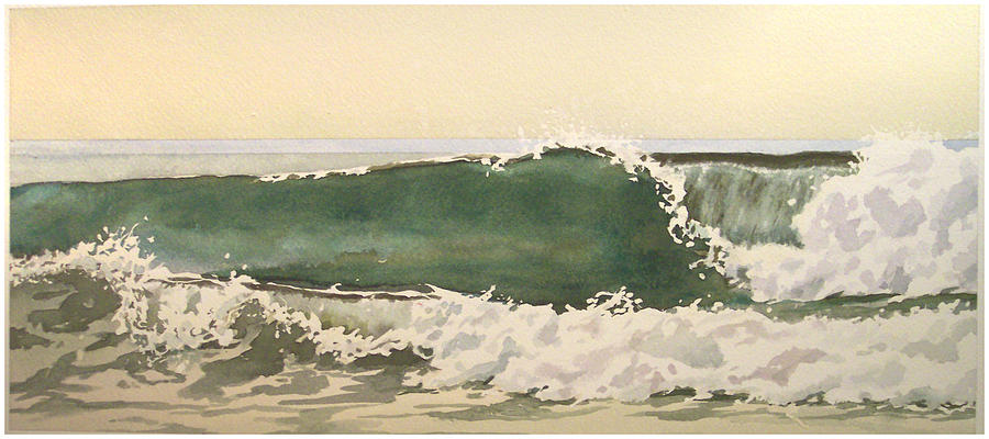 Seascape Painting - Pismo  Number One by Philip Fleischer