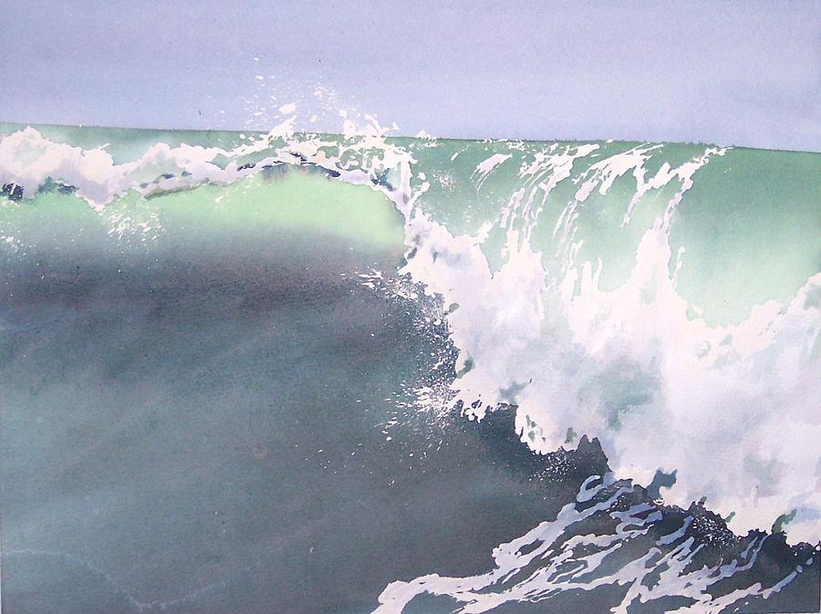 Wave Painting - Pismo Wave Number Eight by Philip Fleischer