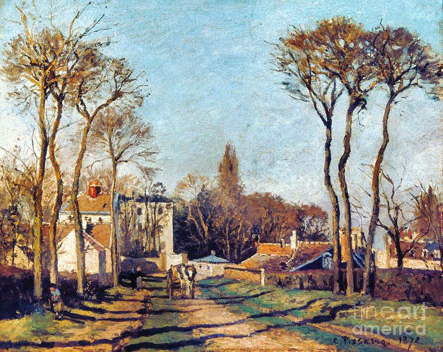 1872 Photograph - Pissarro: Voisins, 1872 by Granger