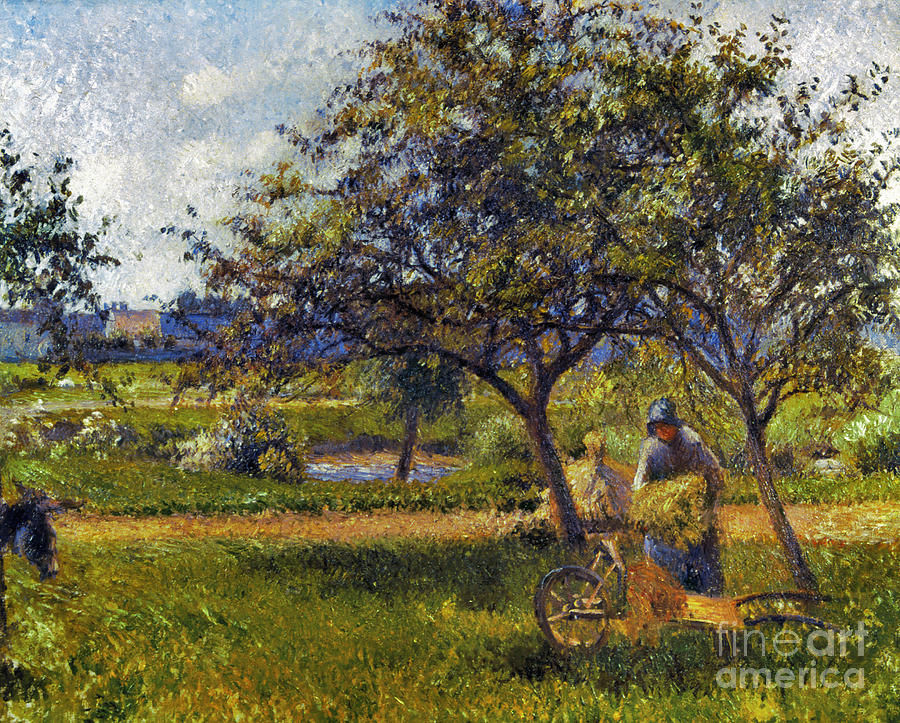 1881 Photograph - Pissarro: Wheelbarr., 1881 by Granger